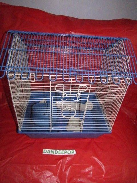 Small Animal Portable Wire Cage New Pet care home, hamster, mice, bird, gerbil #smallanimalhome #WireCage #Hamster #Gerbil #mouse #bird Find me at dandeepop.com