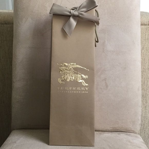 Burberry Other - Burberry shopping bag for cylinder box