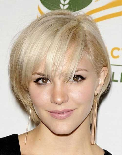 Short Hairstyles For Thin Hair Layered Blonde Oval Face Women Age S Trendy And Stylish Haircut 10 Awesome