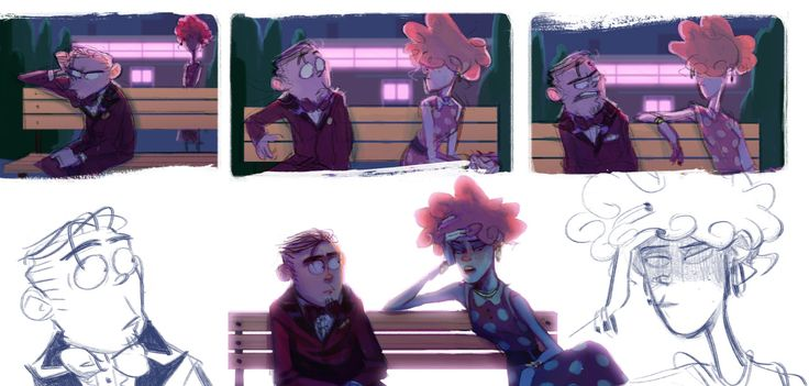 okay so....yeah. I drew this a long time ago but i was too ashamed to post it. I dunno why lol If anyone cares, this picture has a lot more to it than what is here (kinda has to do with this first junkyard pic I did), but basically I had this idea where Eddy goes to prom and finds himself alone and upset and Lee uses the opportunity to say some important things to him.