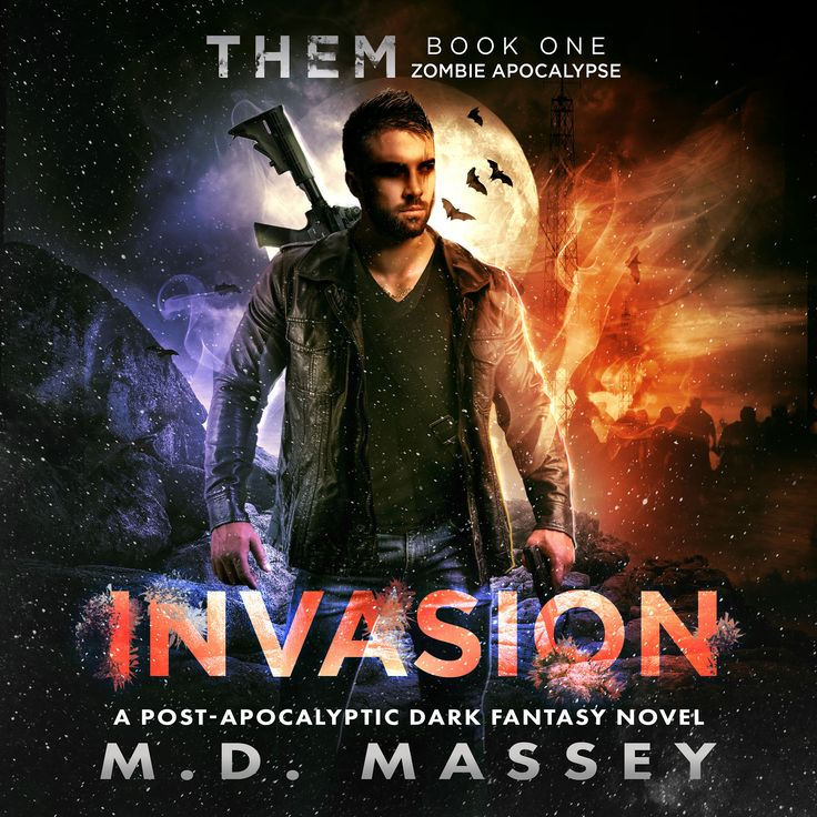 Nice! Five-star review for the #audiobook version of THEM Invasion -  #zombieapocalypse #postapocalyptic #paranormal