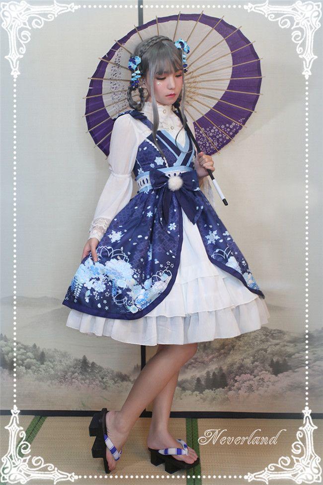 #LolitaUpdate: [-❤-Hyakki Yakō Yuki-onna-❤-] Lolita JSK