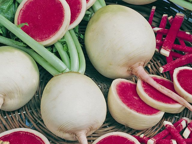 10-exotic-fruits-and-vegetables-to-grow-radish-watermelon-tomato-eggplant-pineberry-goji-berries