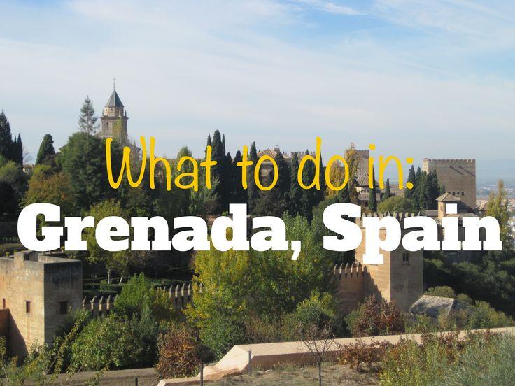Grenada, Spain // Adorationsandadventures.com