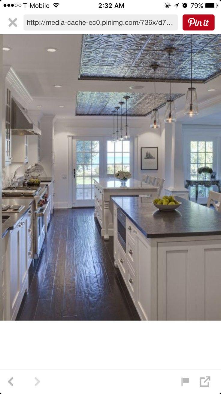 Große Kücheninsel, Kochinseln, Küchenweiß, Küchen Design, Ideen Für Die  Küche, Home Design, Küchen, Innenräume