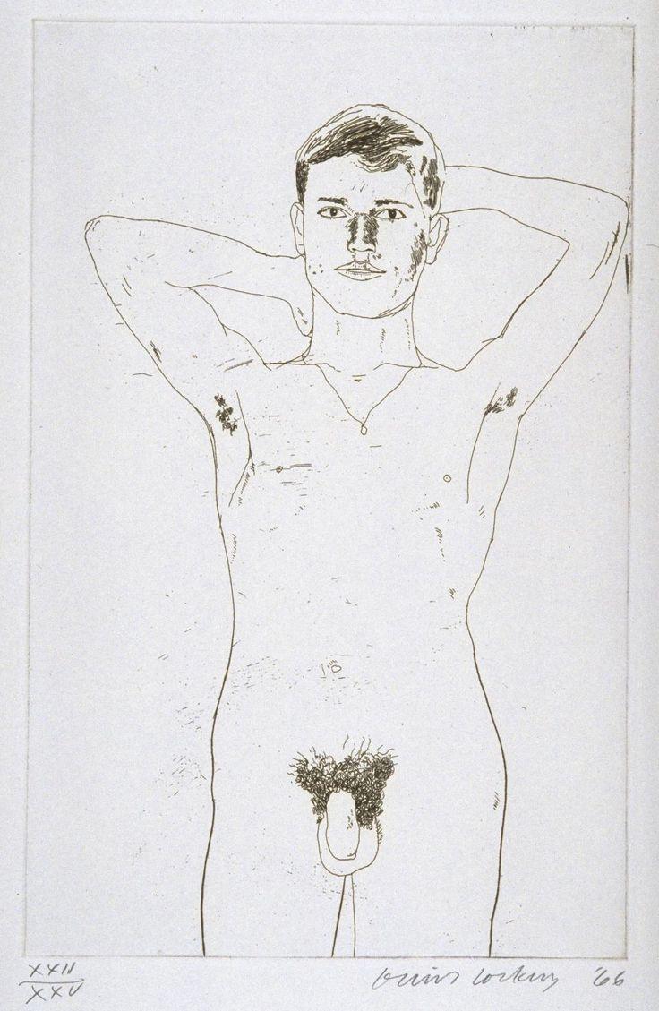David Hockney 'In an Old Book', 1966