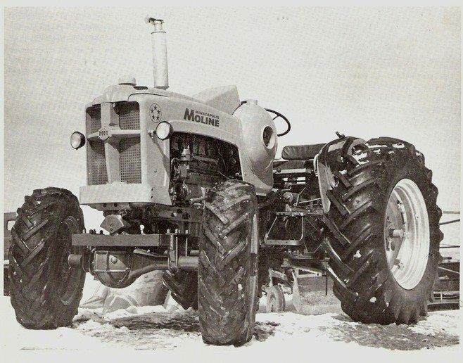 19 Best Images About Minneapolis Moline 5 Star Tractor On