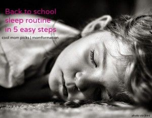 Back-to-school bedtime routine in 5 easy steps
