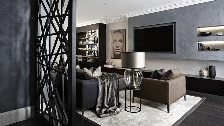 Luxury Knightsbridge Living Room Design Agency