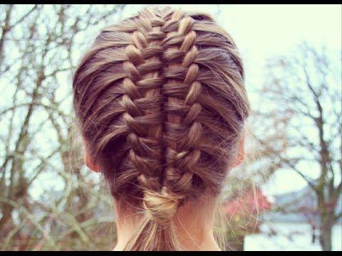 ▶ Suspended infinty braid tutorial - HairAndNailsInspiration - YouTube