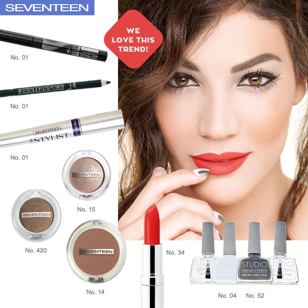 Red Passion | Seventeen Cosmetics Red Passion Mood! #Seventeen #Cosmetics #makeup