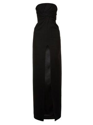 Strapless cut-out slit gown | Saint Laurent | MATCHESFASHION.COM US