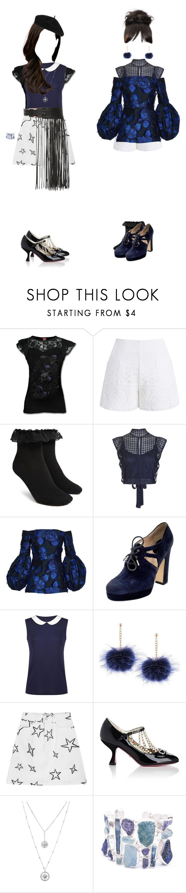 """""""D.Na: """"Wish Upon a Star"""" M/V Solo Scenes"""" by ultraviolet-official ❤ liked on Polyvore featuring Chicwish, Forever 21, TFNC, Lela Rose, D&G, Être Cécile, By Malene Birger, Gucci, Poppy Jewellery and Accessorize"""