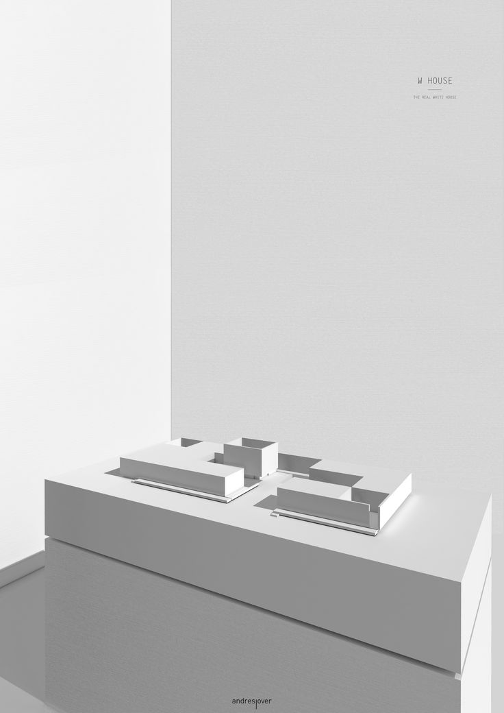 W HOUSE - Andres Jover #architecture #design #minimal #minimalism #interior #panel #model #maqueta #layout #magazine #competition #composition #andresjover #geometry #facade #contemporany #idea #interiordesign #render