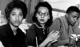 """Diane Nash describes her involvement with integration at Fisk University in Nashville, TN in 1959 and with her leadership in the Freedom Rides, a campaign to desegregate travel. Her role in history often goes unnoticed (see MadameNoire pin), as does the source of her motivation. Nash discusses the influence of reading """"The Feminist Mystique"""" and of thinking of oneself, as a woman, as a """"substantial human being"""" who can indeed make an impact, overcoming fear and the violence of segregation."""