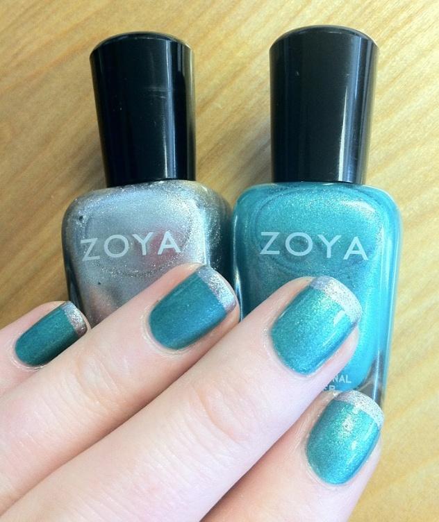 Zoya Nail Polish in Zuza with Zoya Trixie foil french tips! www.zoya.com/content/38/item/Zoya/Zoya-Nail-Polish-Zuza-ZP625.html?O=PN120619TU01094Nails Art, Zoya Zuza, Nails Design, Fly Nails, Trixie Foil, French Tips, Nails Polish, Zoya Trixie, Zoya Nails