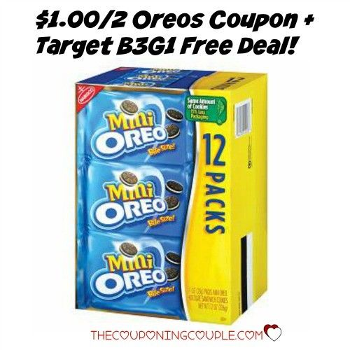 PRINT NOW! The $1.00/2 Oreos Coupon has reset! Print it now to stack with a HOT Target B3G1 Free deal! YUMMY! This coupon will go fast!  Click the link below to get all of the details ► http://www.thecouponingcouple.com/reset-1-002-oreos-coupon-target-b3g1-free-deal/ #Coupons #Couponing #CouponCommunity  Visit us at http://www.thecouponingcouple.com for more great posts!