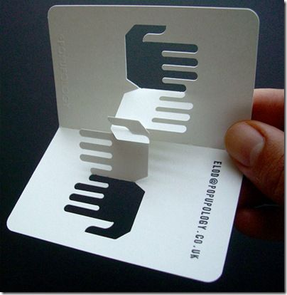 Impressive 3D business cards | Vuing.com
