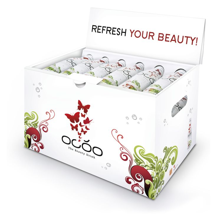 OCÓO 30pc BeautyBox Get OCÓO - The Beauty Drink for your next girls night  #ocoo #style #4pcdesignpack #girlsnight #party #fun #enjoy #beautyfromwithin #lifestyle #mixit #sparkling #wine #champagne