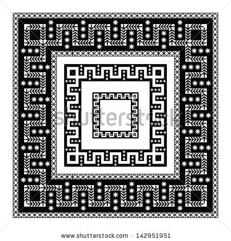 Greek Geometric Patterns Greek Geometric Pattern With