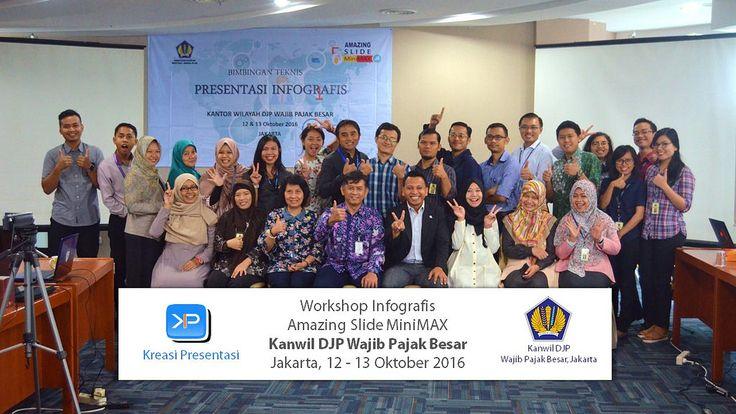 Workshop Infografis Kanwil DJP Wajib Pajak Besar, 12 - 13 Oktober 2016