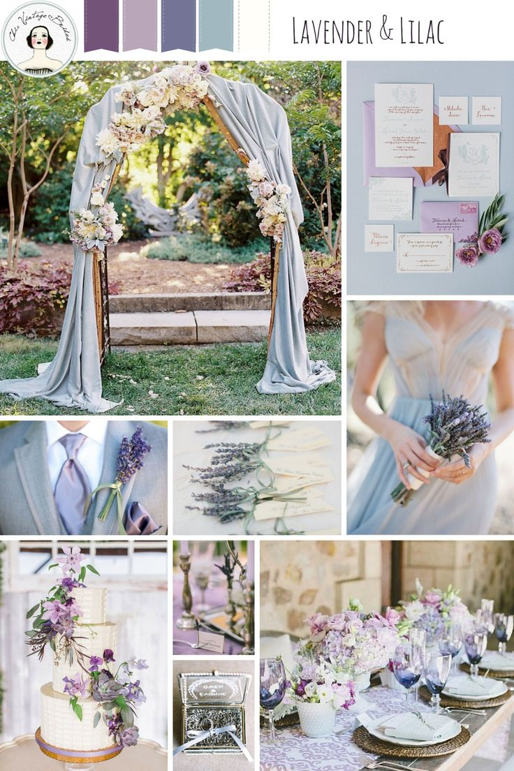 Lavender and Lilac – Spring Wedding Inspiration In Romantic Shades of Purple