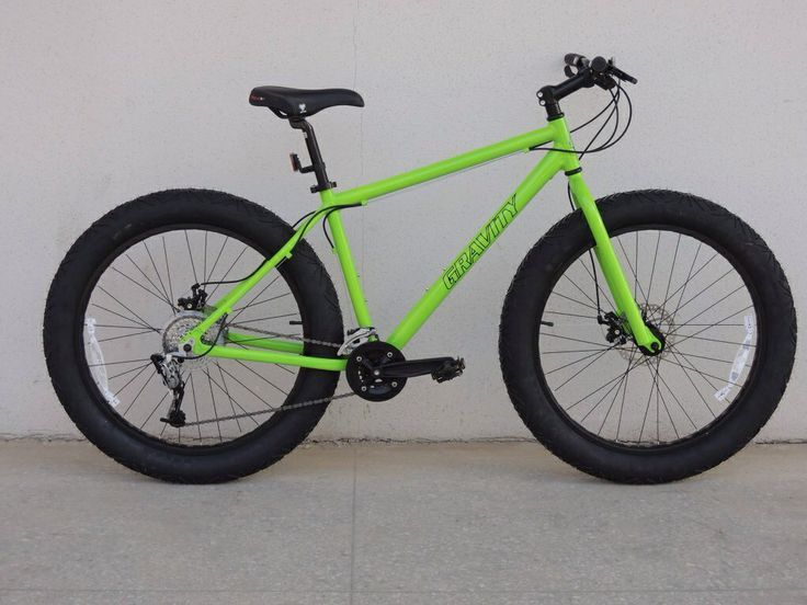 Gravity Bullseye Fat Bike, soon to be offered by Bikes Direct, $400-500. Has spider pattern tires like Sun Spider AT beach cruiser. #fatbike #bicycle