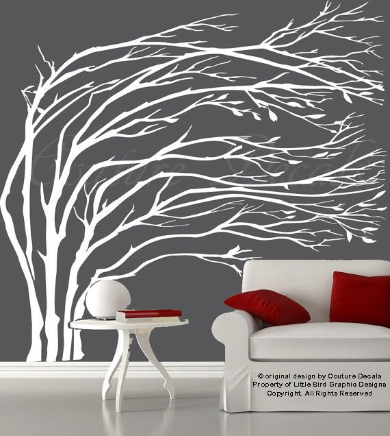 This wall sticker is ideal for any room in your home or office.   Dimensions:  75 Wide x 70 High  When Applied As Shown   Includes easy to install instructions and a test decal. All animals and birds are separated, so you can place them anywhere you would like.    Customized Color Options: If you would like a different color please feel free to choose any colors from the color chart for free! You can leave a note in the message to seller box that is at checkout with the colors that you would…