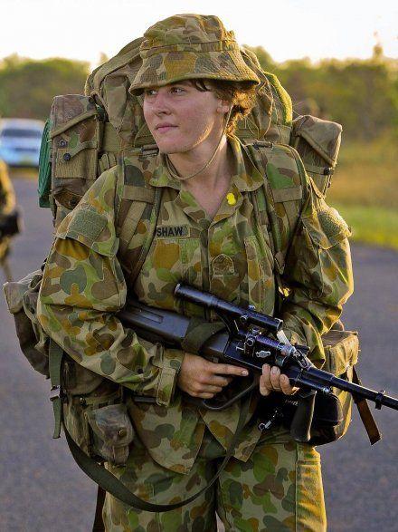 Australian Army woman