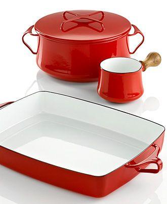 For a Red Hot Wedding DANSK #dinnerware #registry #red
