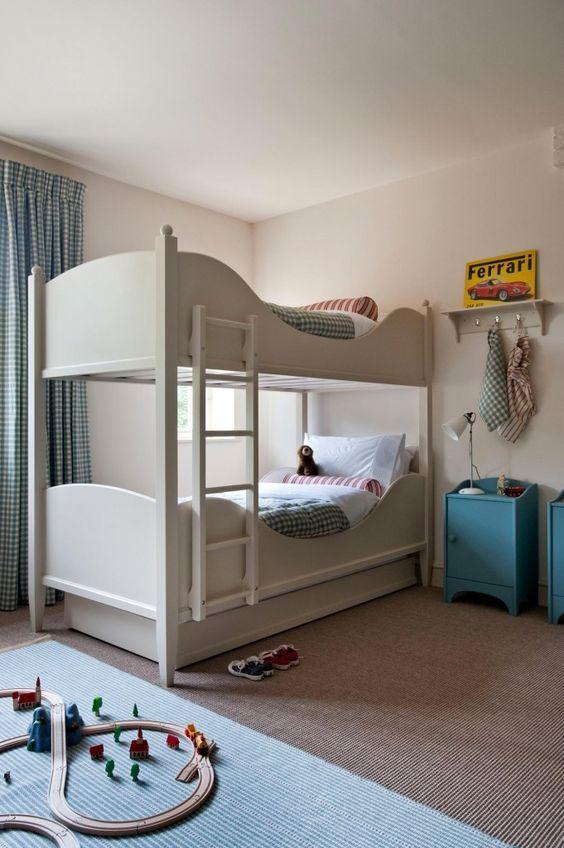 Bunk beds for the boys  Room KidsKids RoomsBunk  101 best ROOM  Kids Rooms images on Pinterest   Nursery  Bedroom  . Childrens Bedroom Interior Design Ideas. Home Design Ideas