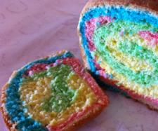 Rainbow bread - the kids love it! | Official Thermomix Recipe Community