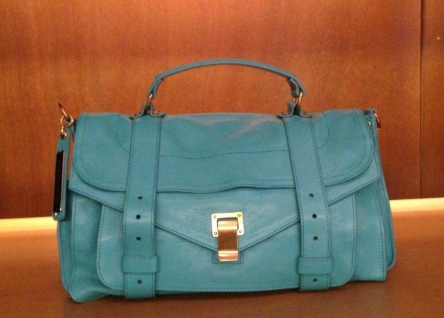 Proenza Schouler #PS1 #leather #bag #FolliFollie #collection