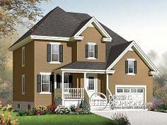 Plan de maison no. W3408-V1 de dessinsdrummond.com