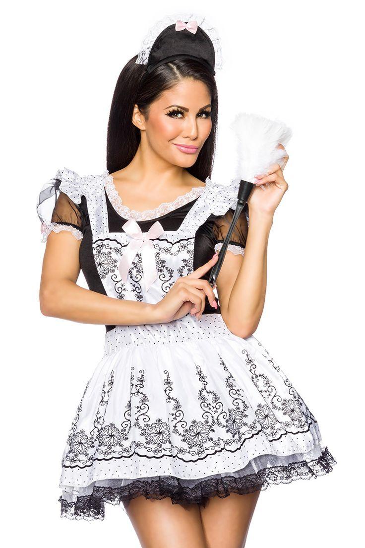 Dienstmädchen #Kostüm https://www.burlesque-dessous.de/dessous/rollenspiele/frauen/dienstmaedchen-kostuem