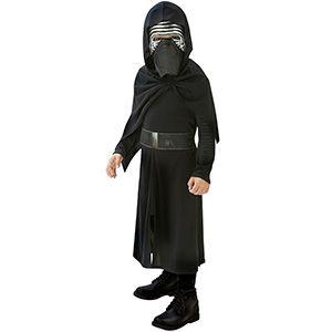Star Wars Episode 7 Kylo Ren Kostüm 5-6 Yaş, erkek çocuk kostümleri