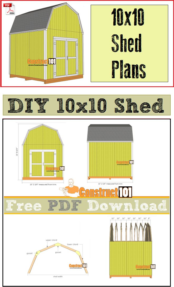 diy small garden shed plans free pdf download