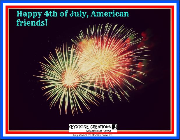 ☆*¨*☆*¨*☆ HAPPY 4th of JULY, American friends! ☆*¨*☆*¨*☆