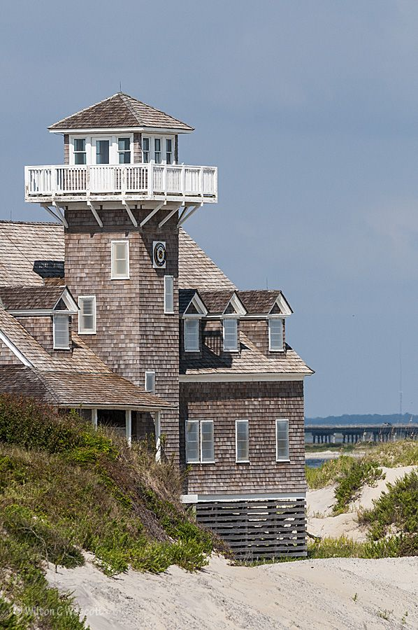 Old Coast Guard station at Oregon Inlet| OBX Connection Message Board
