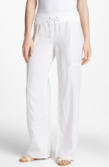 17 best ideas about Wide Leg Linen Pants on Pinterest | Linen ...