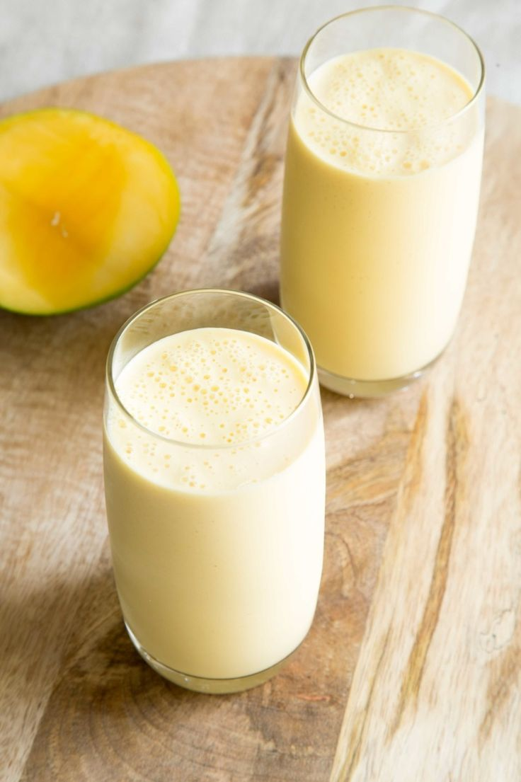 mango lassi is the perfect meal accompaniment for you. The mango and honey give this lassi a hint of natural sweetness, while the yoghurt cools the burn of capsaicin (what gives chillies their heat!). Enjoy a glass with my Mum's Spicy Chicken Curry or Chicken Saagwala