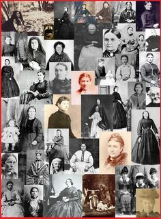 women of the resistance (1869-1870)