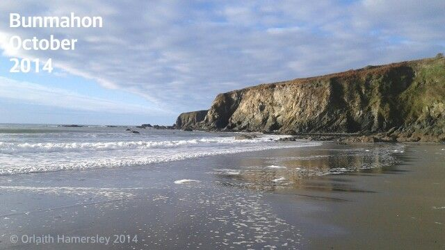 Bunmahon Beach in Waterford, Co Waterford