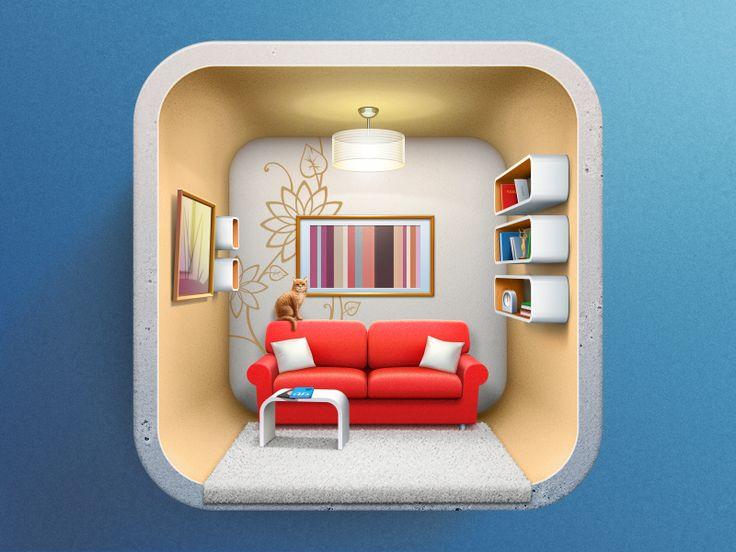 Icon For Interior Design Applicaion