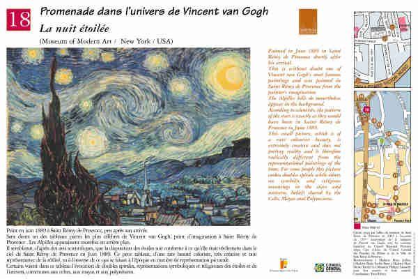 """La nuit étoilée"" #peinture #provence #vangogh #saintremydeprovence"