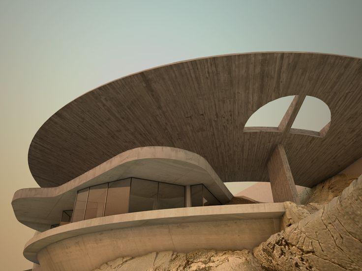 Arango House, Acapulco / John Lautner
