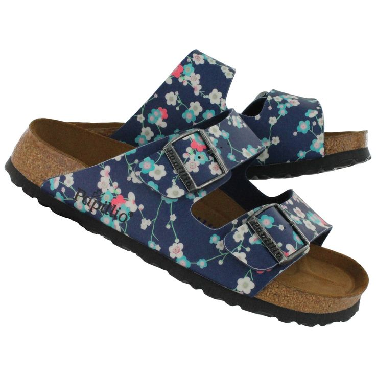 Happy Spring Birkenstock Women S Arizona Floral Print