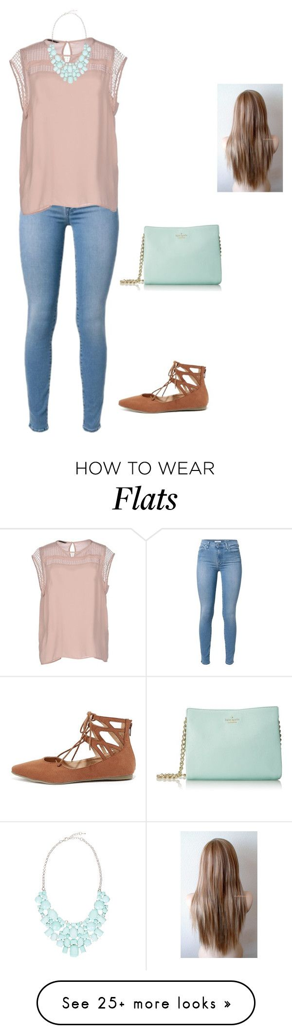 """""""Untitled #994"""" by jackelinhernandez on Polyvore featuring ONLY, Eye Candy, Liliana and Kate Spade"""