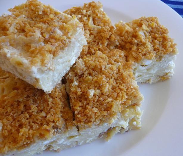 Sweet Lokshen (Noodle) Kugel
