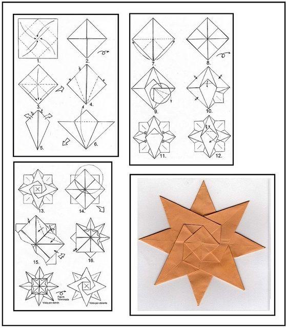 origami instructions star wwwpixsharkcom images